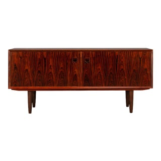 Danish Low Sideboard by E. Brouer for Brouer Møbelfabrik, 1960s For Sale