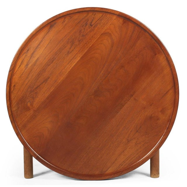 1950s Hans J. Wegner Knock Down Occasional Table For Sale - Image 5 of 7
