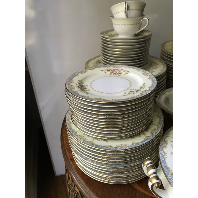 Vintage Rare 1947(M)Naomi by Noritake China Dinnerware 96 Pieces- Service for 12/ Final Reduction For Sale In Birmingham - Image 6 of 9