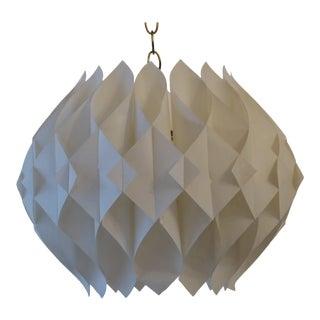 Vintage Scandinavian Lars Schioler Modern Butterfly Pendant Light For Sale