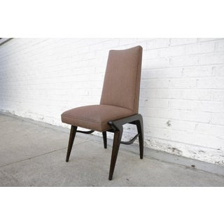 Set of 8 Midcentury Walnut Dining Chairs Preview