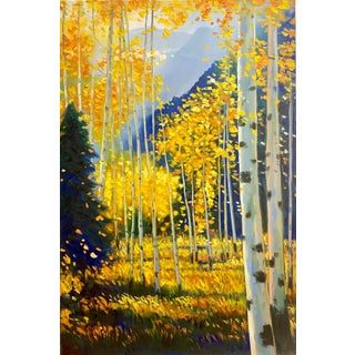 Original Oil Painting on Stretched Canvas by Aaron Aspen For Sale