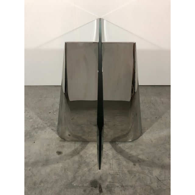 """Contemporary J. Wade Beam """"Pinnacle"""" Dining Table Bases for Brueton For Sale - Image 3 of 11"""