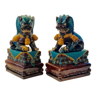Chinese Foo Dogs - A Pair For Sale
