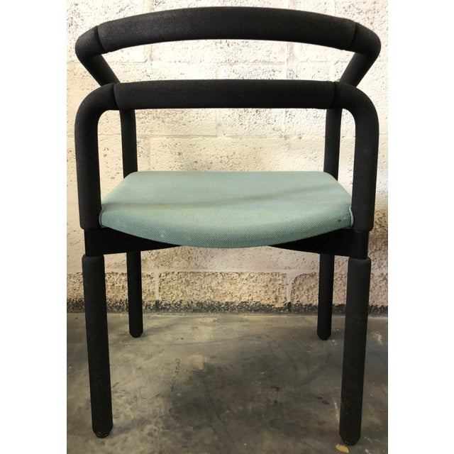 1990s Set of 6 Chairs by Metropolitan For Sale - Image 5 of 9