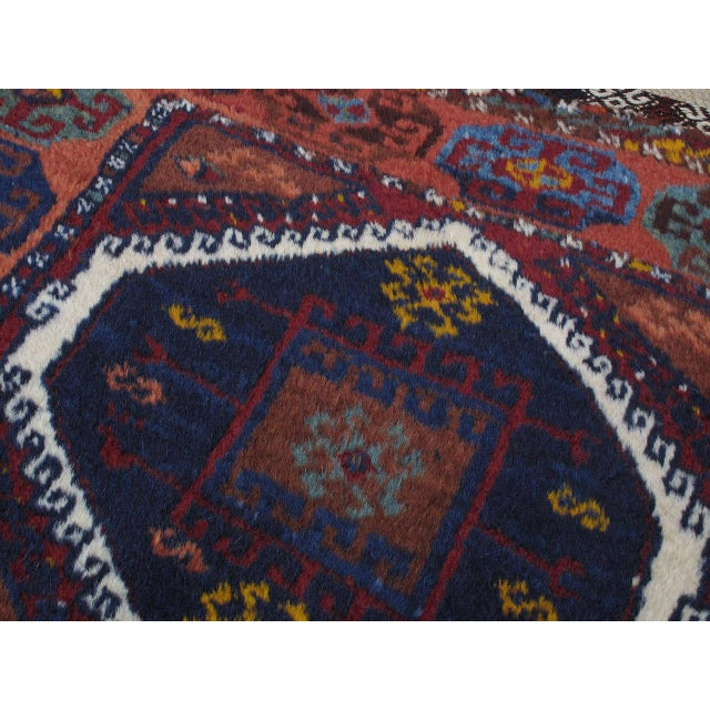Antique Kurdish Rug For Sale In New York - Image 6 of 10