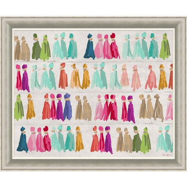 "Contemporary ""Sari Thread"" By Dana Gibson, Framed Art Print For Sale - Image 3 of 3"