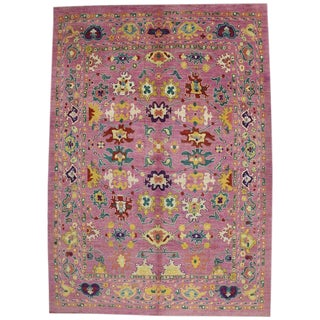 20th Century Turkish Oushak Rug - 12' X 16'10""
