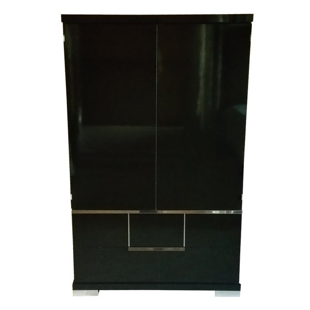 Vintage, Luxe Modern Italian Armoire, Media Unit - Image 1 of 10