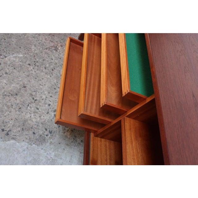 Danish Teak Sideboard with Tambour Doors by Peter Løvig Nielsen - Image 3 of 10
