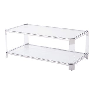 Blink Home Silver Cocktail Table For Sale