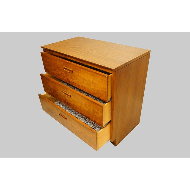 Lane Danish Mid Century Modern 3 Drawer Chest/Dresser - Image 6 of 6