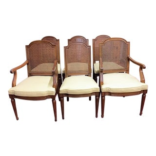 1960s Henredon Louis XVI Dining Chairs - Set of 6 For Sale