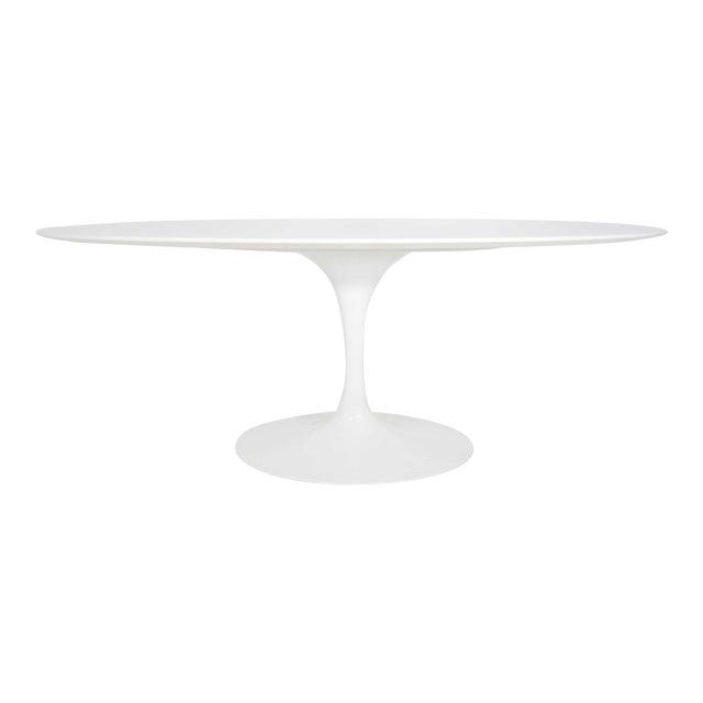 Eero Saarinen for Knoll Oval Tulip Table For Sale