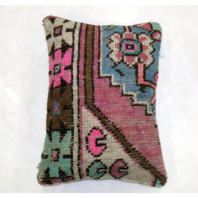 Vintage Rug Fragment Pillow - Image 2 of 3