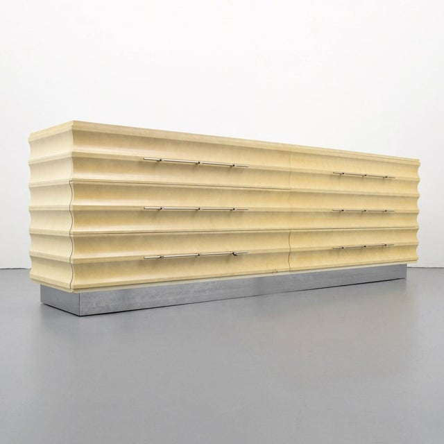 Modern Tommi Parzinger Lowboy Dresser For Sale - Image 11 of 11