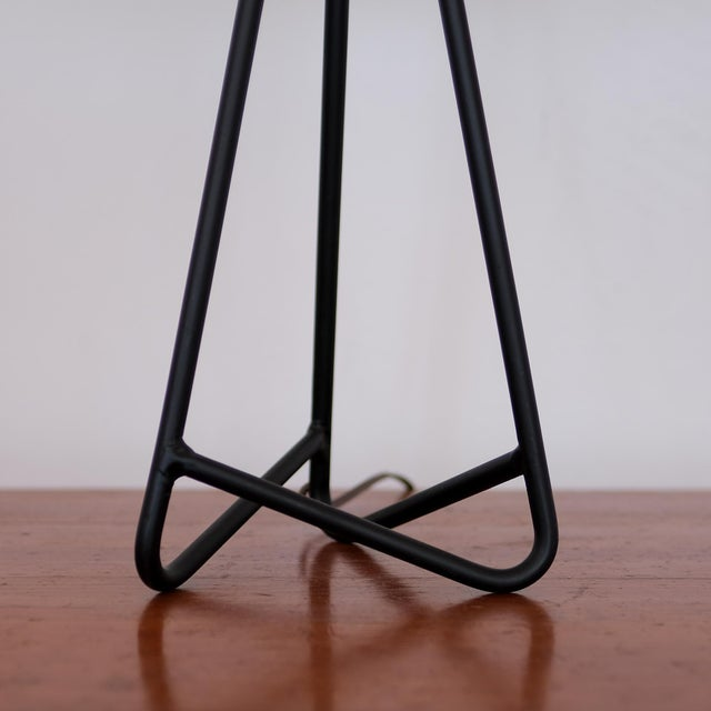 1950s Sculptural Iron Table Lamp, 1950s For Sale - Image 5 of 7
