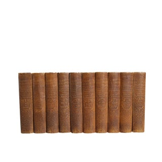 Collier's New Encyclopedia : Set of Ten Decorative Books