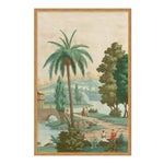 China Palm by Paul Montgomery in Gold Frame, Large Art Print