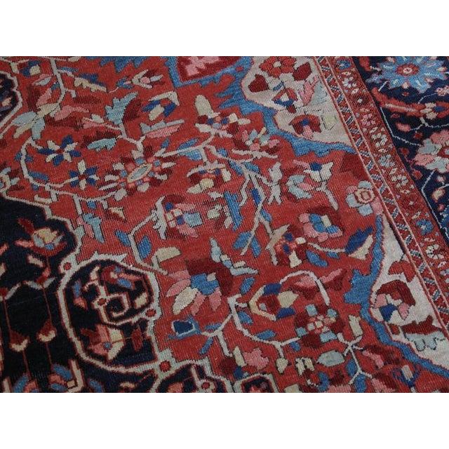 Textile Antique Feraghan Sarouk Rug For Sale - Image 7 of 10