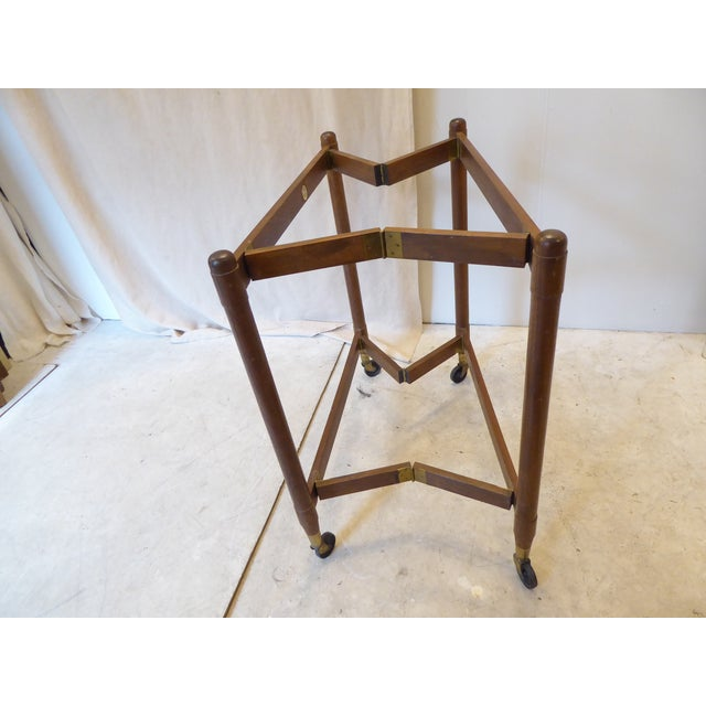 Mid 20th Century Vintage Modern John Stuart Hardwood Side Table For Sale - Image 5 of 8