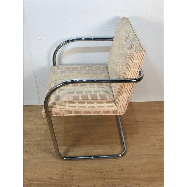 Eight Mid-Century Brono Tubular Chairs, Designed by Ludwig Mies van der Rohe For Sale - Image 5 of 6