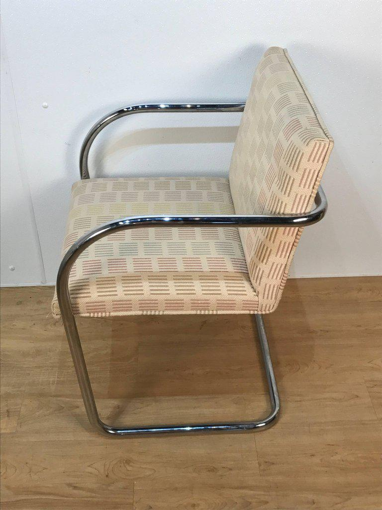 Eight Mid-Century Brono Tubular Chairs Designed by Ludwig Mies van der Rohe -  sc 1 st  Chairish & Eight Mid-Century Brono Tubular Chairs Designed by Ludwig Mies van ...