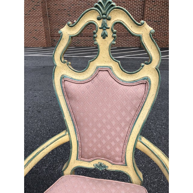 Victorian Style Era Gothic Chairs- a Pair For Sale In Atlanta - Image 6 of 9