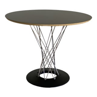 Mid-Century Modernica Black Top Cyclone Dining Table For Sale