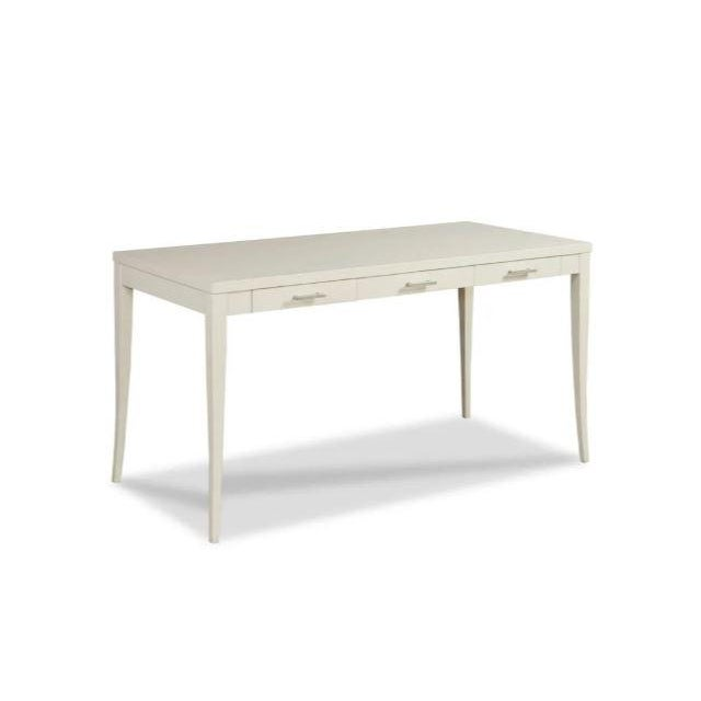 French Kenneth Ludwig Chicago Sarah White Writing Desk For Sale - Image 3 of 3
