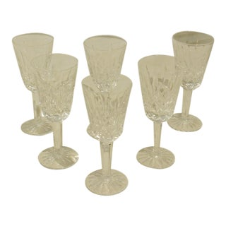 1950s Lismore Liqueurs by Waterford - Set of 6 For Sale