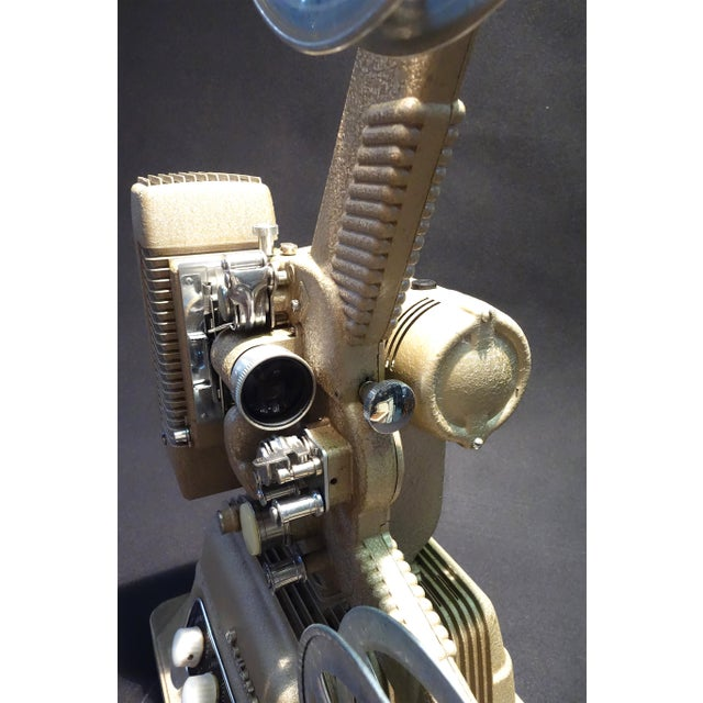 Vintage 16mm Movie Projector Circa 1954 in an Impressive Large Size, by Revere Camera Company For Sale - Image 4 of 10