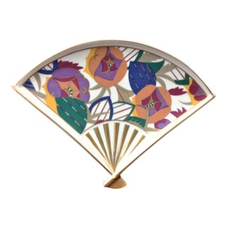 Taste Seller by Sigma E.A. Seguy Inspired Fan Plate For Sale