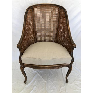 French Oak Caned Armchair Preview