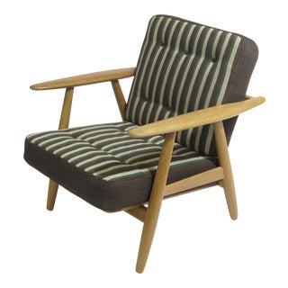 Hans Wegner Cigar Lounge Chair For Sale