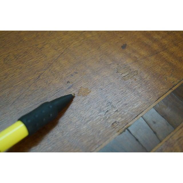 Vintage Italian Imported Walnut Writing Desk - Image 10 of 10