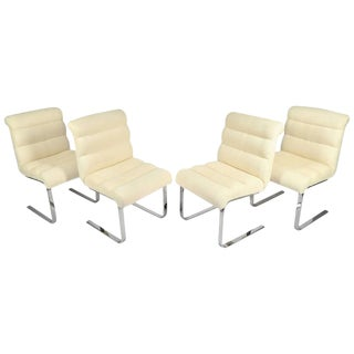 """Set of Four """"Lugano"""" Chairs by Mariani for Pace"""