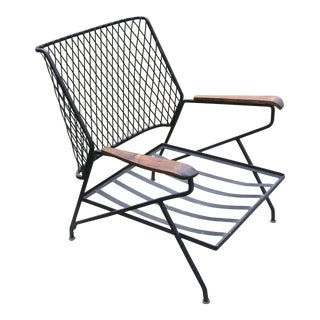 1950s Mid-Century Modern Salterini Patio Lounge Chair For Sale