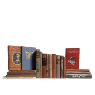 Walking the Plank Nautical Book Set, S/20 For Sale