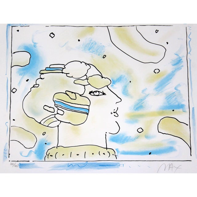 For your consideration is a stunning, framed print by Peter Max, signed and numbered 120/165. In excellent condition. The...