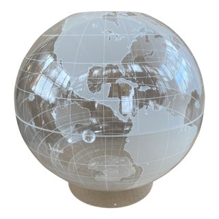 1990s Spherical Concepts Acrylic Globe For Sale