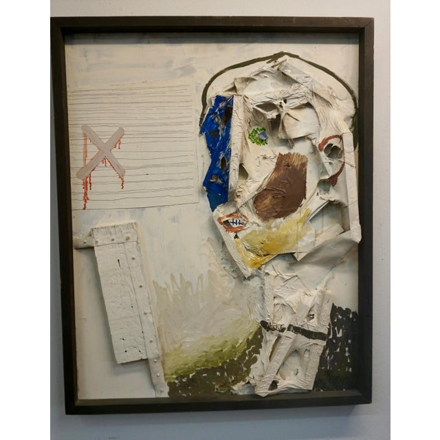 1960s Abstract Collage by Sheldon Kirby For Sale - Image 5 of 6