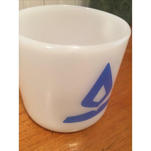 Vintage Fire King Milk Glass Mugs - Set of 4 - Image 5 of 6