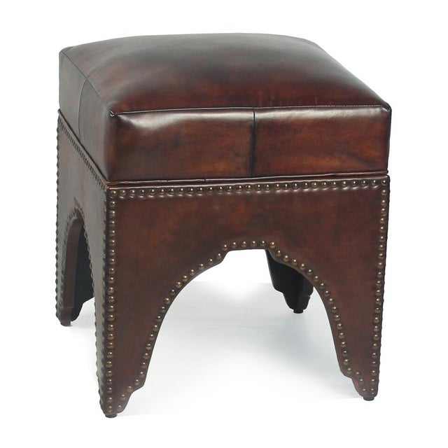 Estimated Retail Price: $672.00. No lie, this footstool will come alive in any space. Perfect for extra seating. Beautiful...