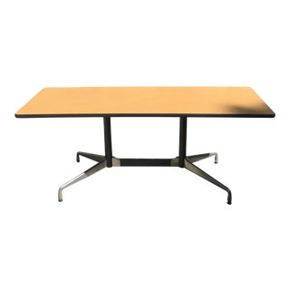 Herman Miller Aluminum Group Laminate Top Table For Sale