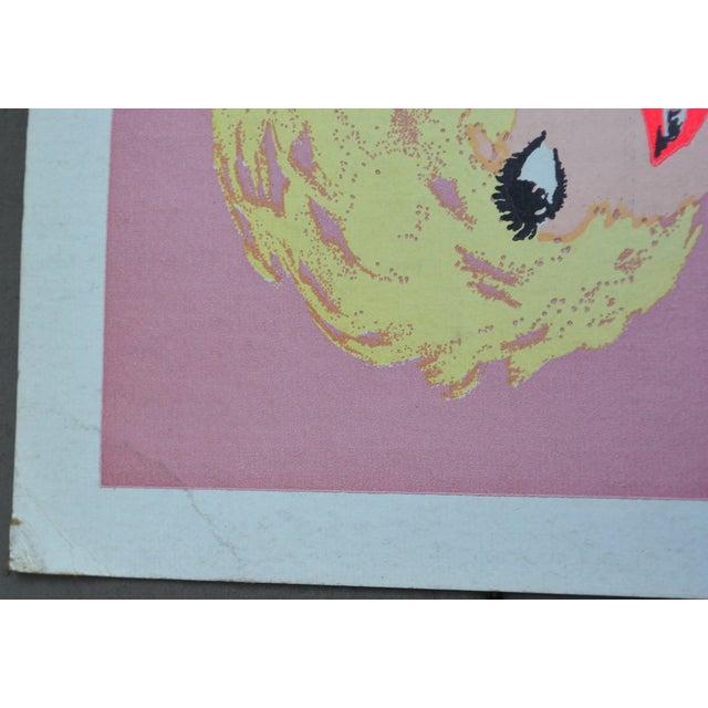 """Kermit Adler Vintage """"Four on a Garden"""" Poster - Image 2 of 6"""