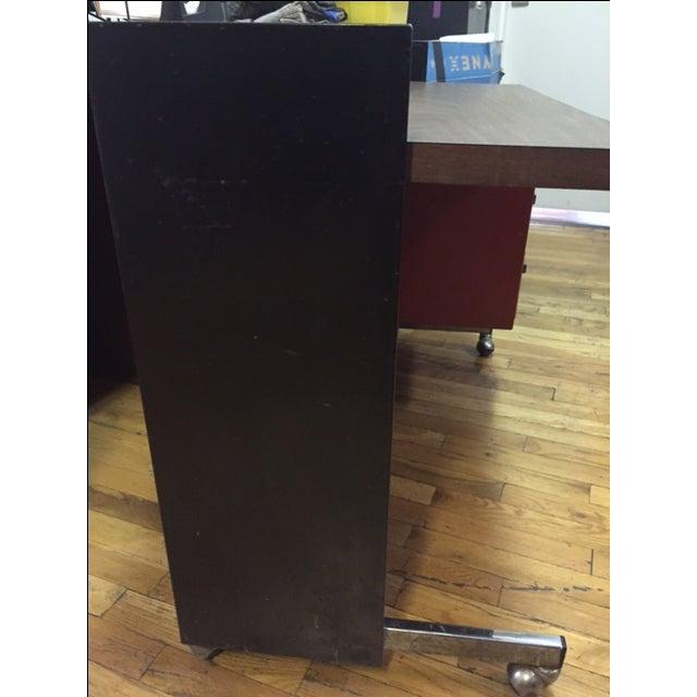 Designcraft 3 Drawer Industrial Desk - Image 5 of 6