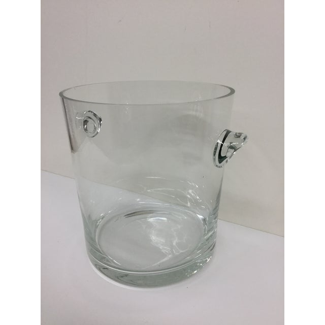 Art Deco 1920 Art Deco Crystal Ice Bucket For Sale - Image 3 of 9