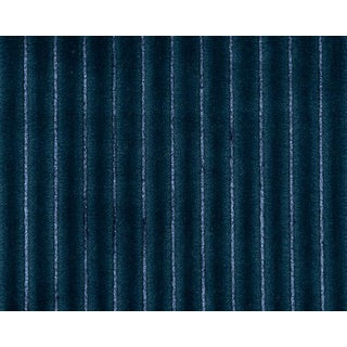 Hinson for the House of Scalamandre Highlight Fabric in Blue For Sale