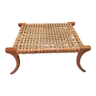 Robsjohn Gibbings Style Klismos Bench For Sale